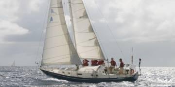 Pro Sail Curacao - Sailing at sea with skipper