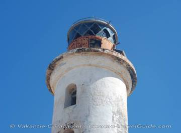 Lighthouse of Klein Curacao close view
